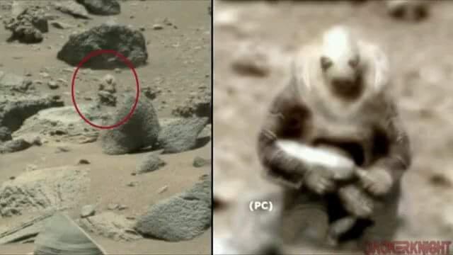 Neanche su Marte!